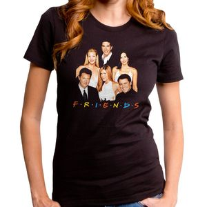 Friends New Friends Women's T-Shirt Black