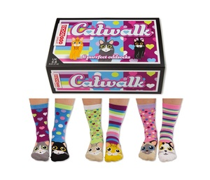 United Oddsocks Catwalk Womens Socks [3 Pairs]