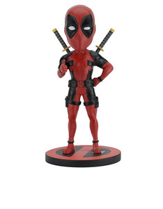 NECA Marvel Head Knocker Deadpool Classic Red/Black