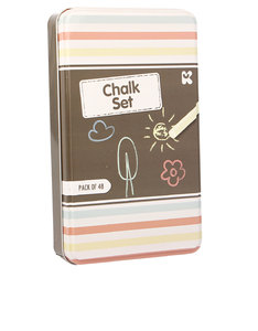 Keycraft Chalk Set In Tin
