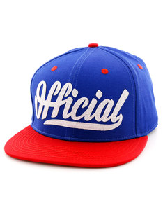 Official Skate Logo Blue/Red/White Men Cap