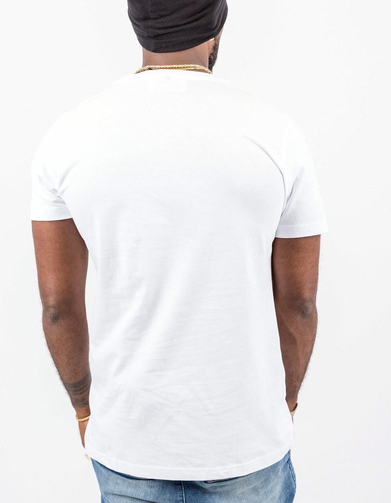 Saint noir horse white t shirt tops t shirts men for Film noir t shirts