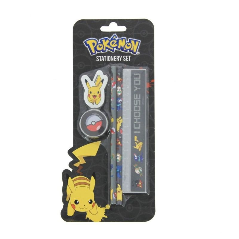 Blueprint Pokemon Sun & Moon Stationery Set