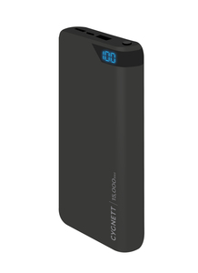 Cygnett ChargeUp Boost 15000mAh Black Power Bank