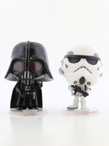 Funko Star Wars Darth Vader & Stormtrooper Pack Of 2 Vinyl Figure