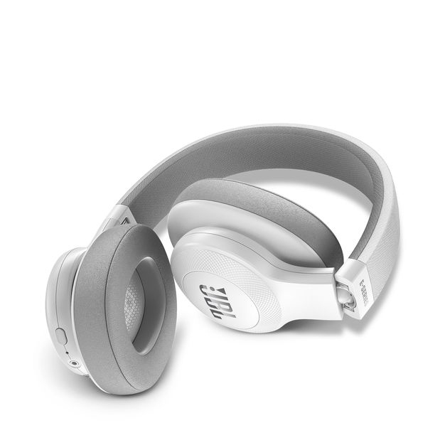 jbl over ear headphones. jbl e55 white bluetooth over-ear headphones jbl over ear i