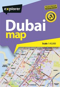 Dubai Tear Proof Map [2nd Edition]