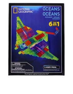 Laser Pegs National Geographic 6 In 1 Oceans