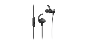 Sony MDR-XB510AS Black Sports Extra Bass In-Ear Earphones