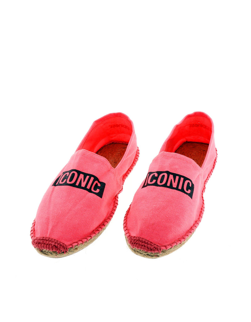 Fuxia Iconic Pink Women'S Espadrillas Size 41