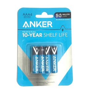 Anker AAA Alkaline Batteries [Pack of 4]