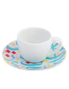 Silsal Tarateesh Espresso Cup Turquoise