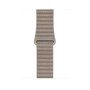 APPLE 44MM LEATHER LOOP STONE FOR APPLE WATCH LARGE