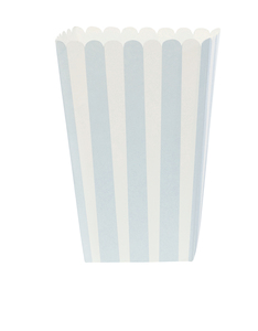 MISS ETOILE POPCORN BOX LIGHT BLUE PACK OF 6