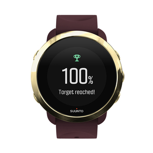 Suunto 3 Fitness Burgundy Sports Watch
