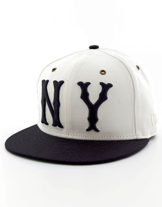 New Era MLB Duck Canvas NY Yankees White Cap