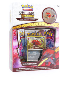 Pokemon TCG Shinning Legends Zoroark Pin Box