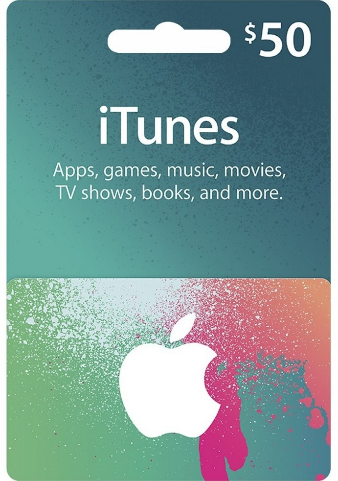iTunes 50 USD Gift Card