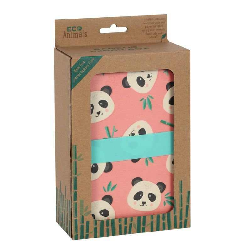 Something Different Penelope Panda Bamboo Lunch Box