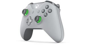 Microsoft Grey/Green Wireless Controller for Xbox One