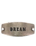 Small Sentiment Dream Silver Necklace Buckle