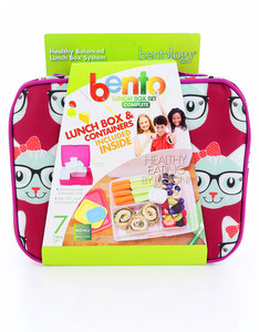 Bentology Kitty Complete Lunch Box Set