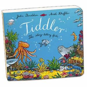 Tiddler Board Book Telling Fish