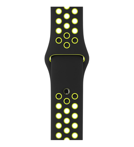 Apple Watch Nike+ Black/Volt Sport Band 42mm [S/M] - [M/L]