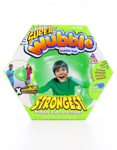 Super Wubble Ball with Pump Green