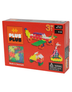 Plus-Plus Mini Neon 3 in 1 Building Blocks [220 Pcs]