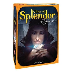 Cities Of Splendor Board Game [Expansion Pack]