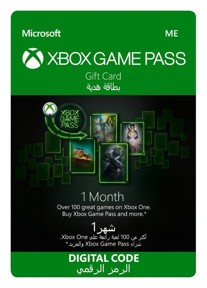 Xbox Game Pass - 1 Month [Digital Code]
