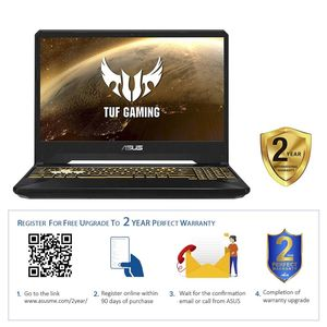 "ASUS TUF Gaming FX505DT-BQ045T R7-3750H/16GB/512GB SSD/NVIDIA GeForce GTX 1650 4GB/15.6"" FHD/60Hz/Windows 10 Home/Black"