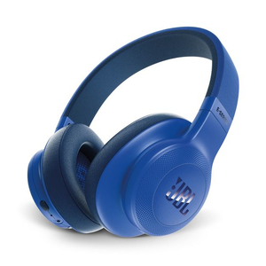 JBL E55 Blue Bluetooth Over-Ear Headphones
