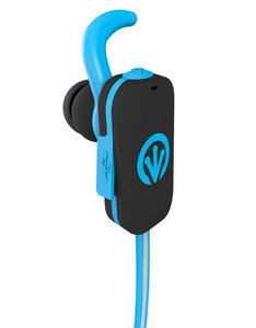 iFrogz Freerein Reflect Bluetooth Blue Earbuds