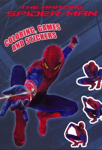 Coloring Games And Stickers The Amazing Spider-Man