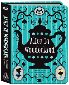 Alice In Wonderland Keepsake Journal