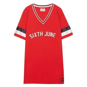Sixth June Short Sleeved Dress Red