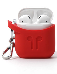 PodPocket Silicone Case Blazing Red For Apple AirPods