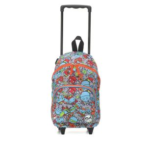 Zip & Zoe Robot Kid's Mini Trolley Bag Blue