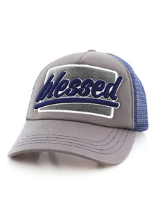 B180 Blessed2 Cap Grey/Blue