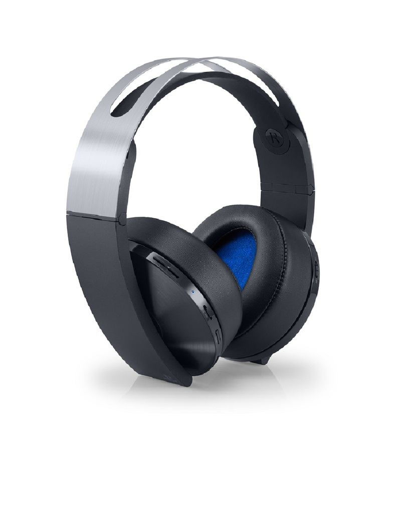 sony playstation platinum wireless gaming headset. Black Bedroom Furniture Sets. Home Design Ideas