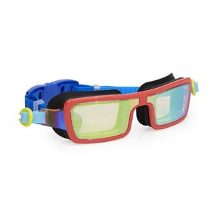 Bling2O Swimming Goggles Electric 80'S Retro Red