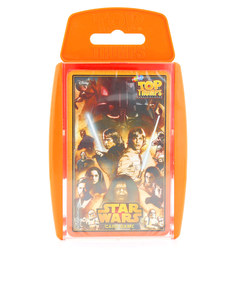 TOP TRUMPS STAR WARS CARD GAME ENGLISH & ARABIC