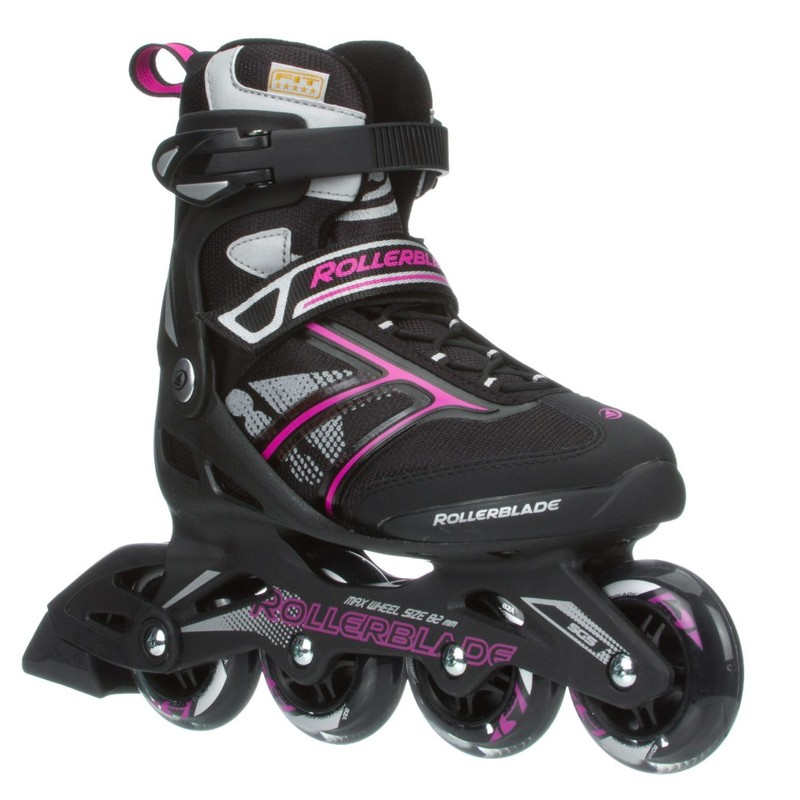 4165f94f815 Rollerblade Zetrablade W Fitness Women's Inline Skates Black/Pink | Roller- Skates & Blades | Outdoor | Gifts & Toys | Virgin Megastore