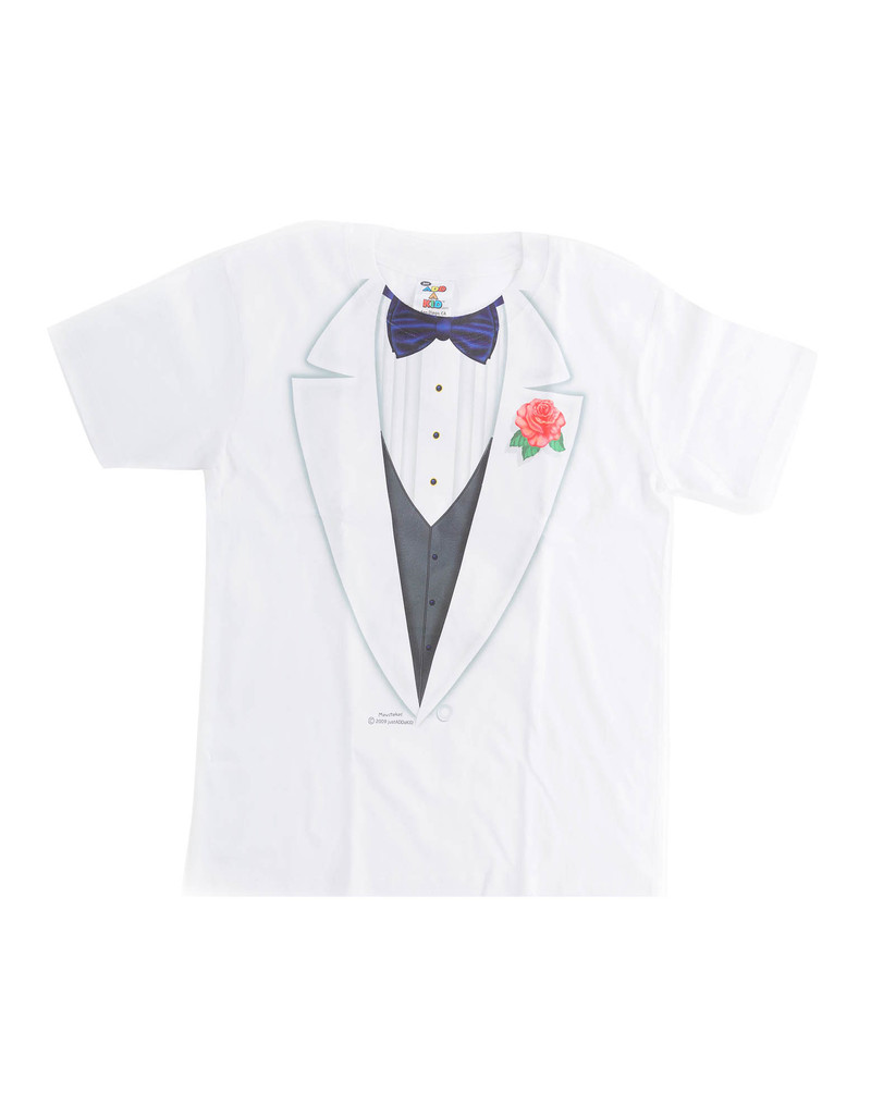 Tuxedo Boy Youth X Small T-Shirt