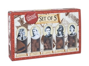Professor Puzzle Great Minds Collection: Women [Set of 5]