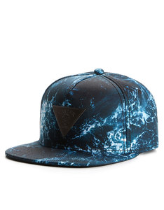 Cayler & Sons Gold Wavey Blue/Black Cap