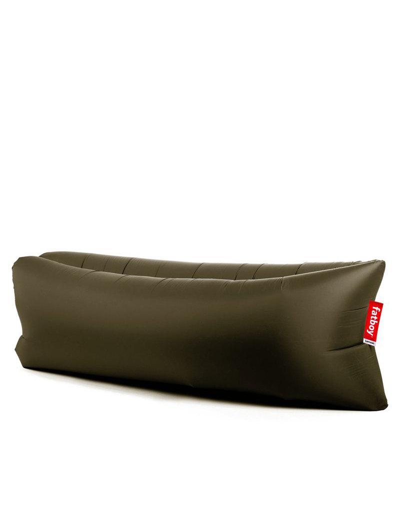Fatboy lamzac portable sofa olive green furniture for Sofa hinchable lamzac