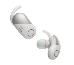 Sony WF-SP700N Sports Wireless Noise Cancelling In-Ear Earphones White